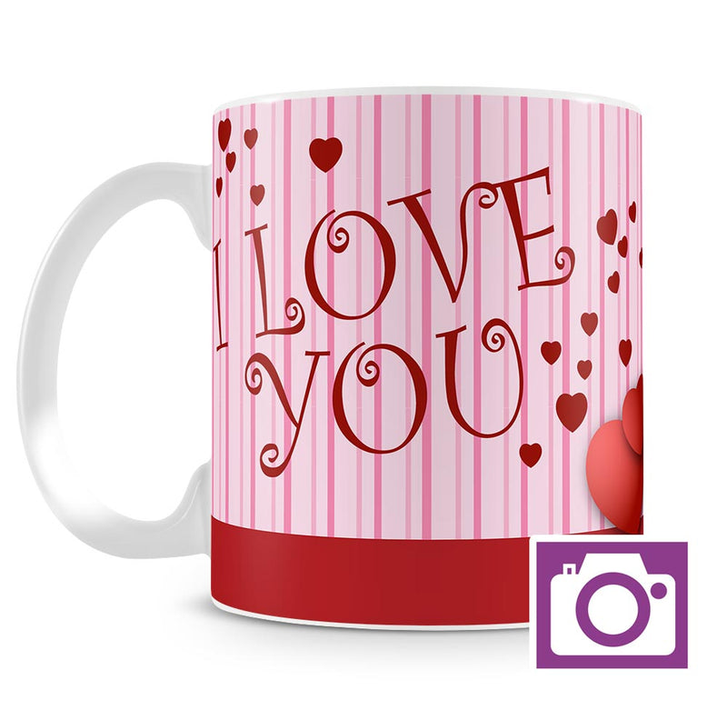 Personalised Mug - I Love You a