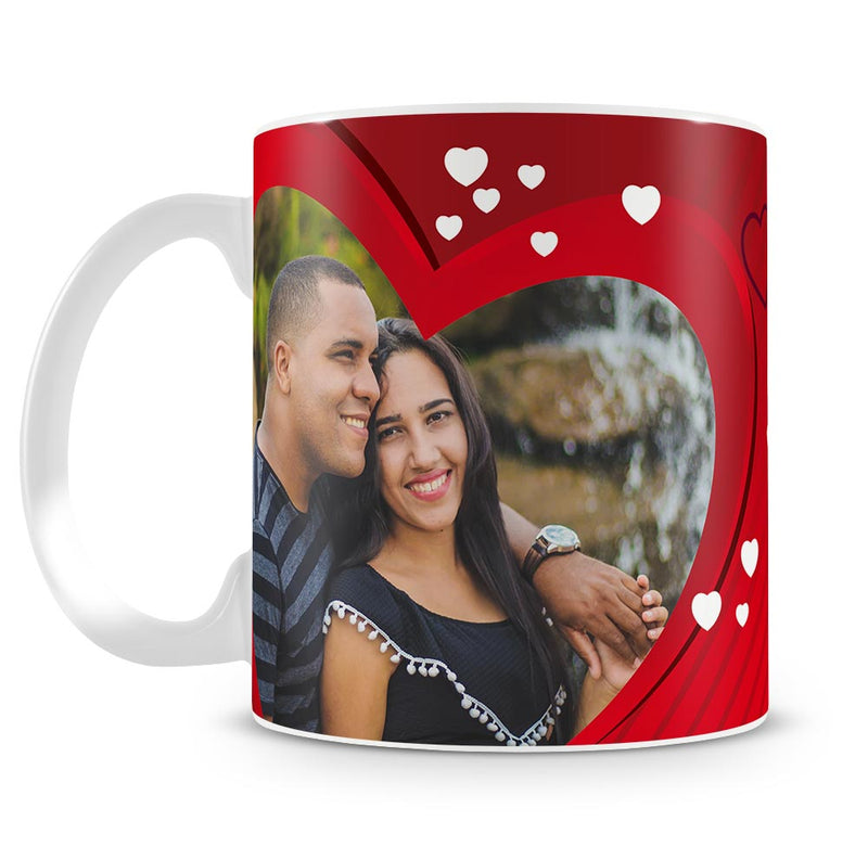Personalised Mug - You warm my heart b
