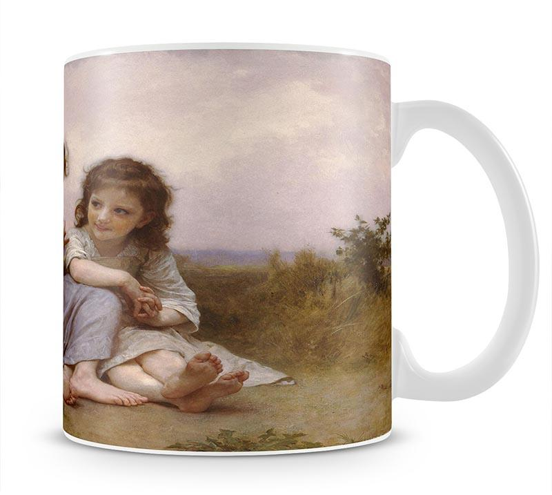 A Childhood Idyll 1900 By Bouguereau Mug - Canvas Art Rocks - 1