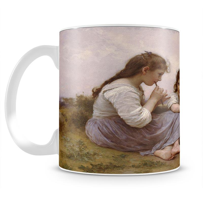 A Childhood Idyll 1900 By Bouguereau Mug - Canvas Art Rocks - 2