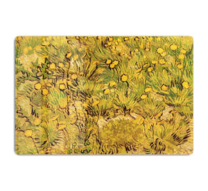 A Field of Yellow Flowers by Van Gogh HD Metal Print
