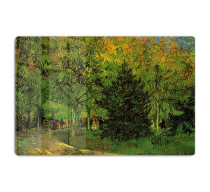 A Lane in the Public Garden at Arles by Van Gogh HD Metal Print