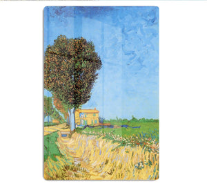 A Lane near Arles by Van Gogh HD Metal Print
