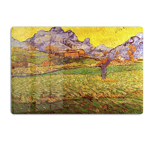 A Meadow in the Mountains Le Mas de Saint-Paul by Van Gogh HD Metal Print