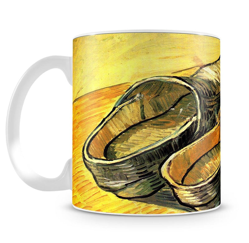 A Pair of Leather Clogs by Van Gogh Mug - Canvas Art Rocks - 4