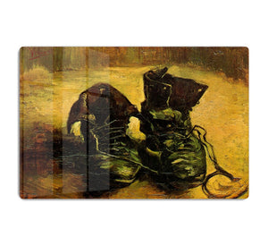 A Pair of Shoes 2 by Van Gogh HD Metal Print