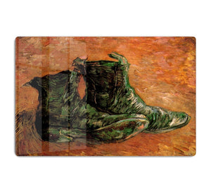 A Pair of Shoes by Van Gogh HD Metal Print