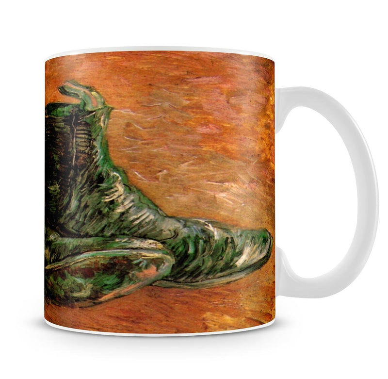 A Pair of Shoes by Van Gogh Mug - Canvas Art Rocks - 4