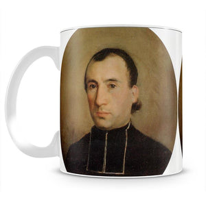 A Portrait of Eugene Bouguereau 1850 By Bouguereau Mug - Canvas Art Rocks - 2