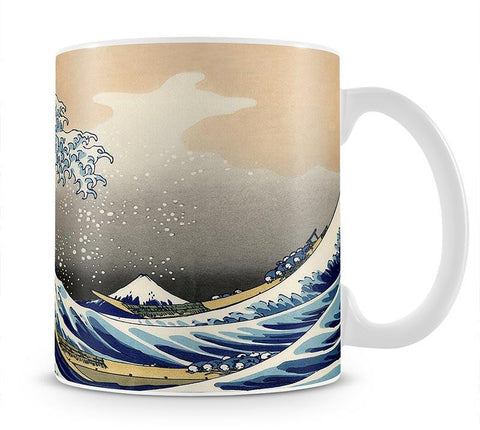 A big wave off Kanagawa by Hokusai Mug - Canvas Art Rocks - 1