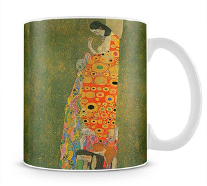 Abandoned Hope by Klimt Mug - Canvas Art Rocks - 1