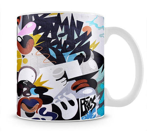 Abstract Graffiti Mug - Canvas Art Rocks - 1