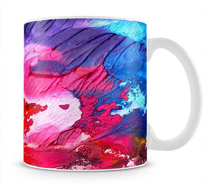 Abstract Oil Paint Mug - Canvas Art Rocks - 1