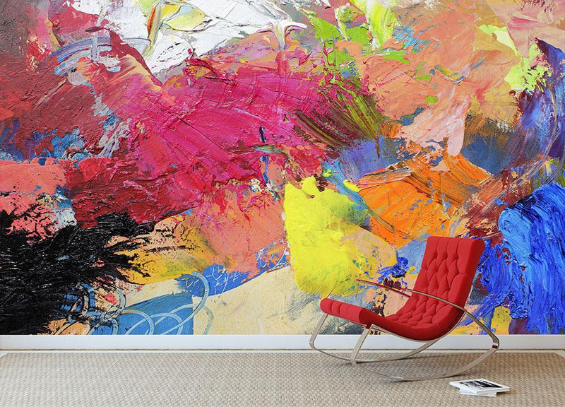 Abstract art Wall Mural Wallpaper - Canvas Art Rocks - 1