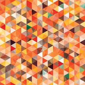 Abstract triangle seamless Wall Mural Wallpaper - Canvas Art Rocks - 1