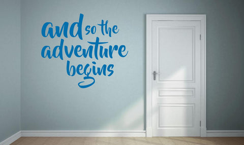 Adventure Wall Sticker - They'll Love Wall Art - 1