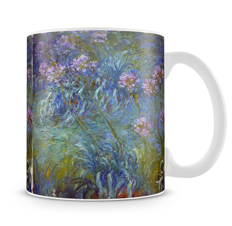 Agapanthus by Monet Mug - Canvas Art Rocks - 4