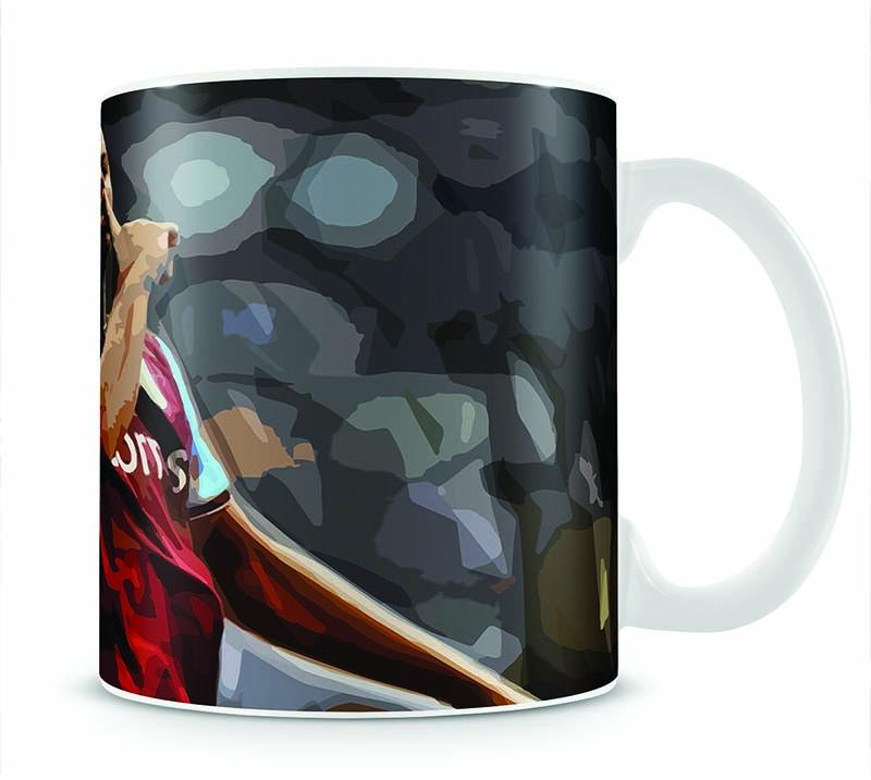 Agbonlahor Aston Villa Mug - Canvas Art Rocks - 1