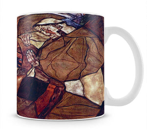 Agony The Death Struggle by Egon Schiele Mug - Canvas Art Rocks - 1
