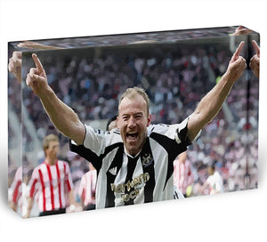 Alan Shearer Acrylic Block - Canvas Art Rocks - 1