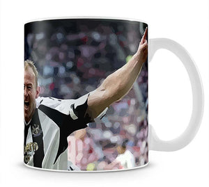 Alan Shearer Mug - Canvas Art Rocks - 1
