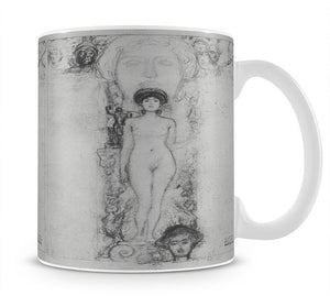 Allegory of Sculpture by Klimt Mug - Canvas Art Rocks - 1