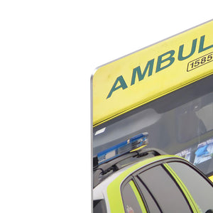 Ambulance and responder vehicles HD Metal Print
