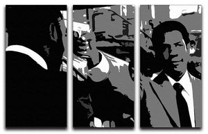 American Gangster 3 Split Panel Canvas Print - Canvas Art Rocks - 1