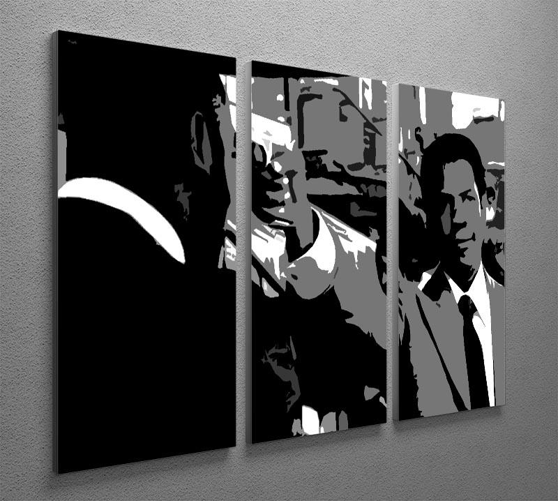 American Gangster 3 Split Panel Canvas Print - Canvas Art Rocks - 2