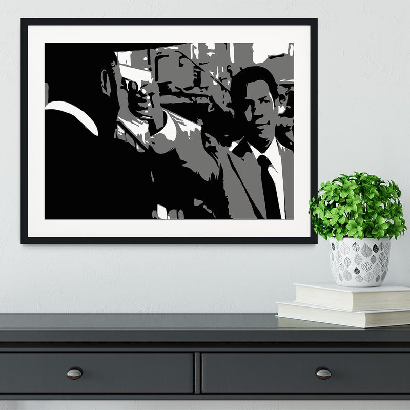 American Gangster Framed Print - Canvas Art Rocks - 1