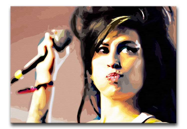 Art print POSTER Canvas Amy Winehouse