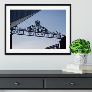 Anfield Gates Framed Print - Canvas Art Rocks - 1