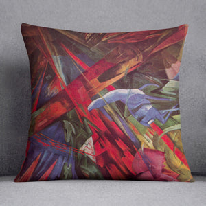 Animal Fates by Franz Marc Cushion
