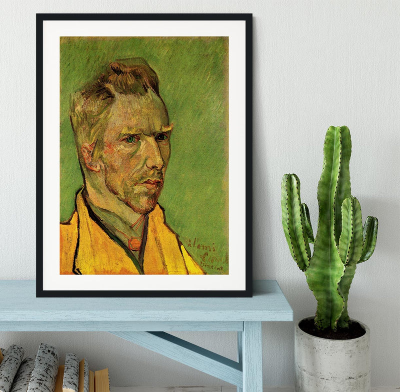 Another Self-Portrait by Van Gogh Framed Print - Canvas Art Rocks - 1