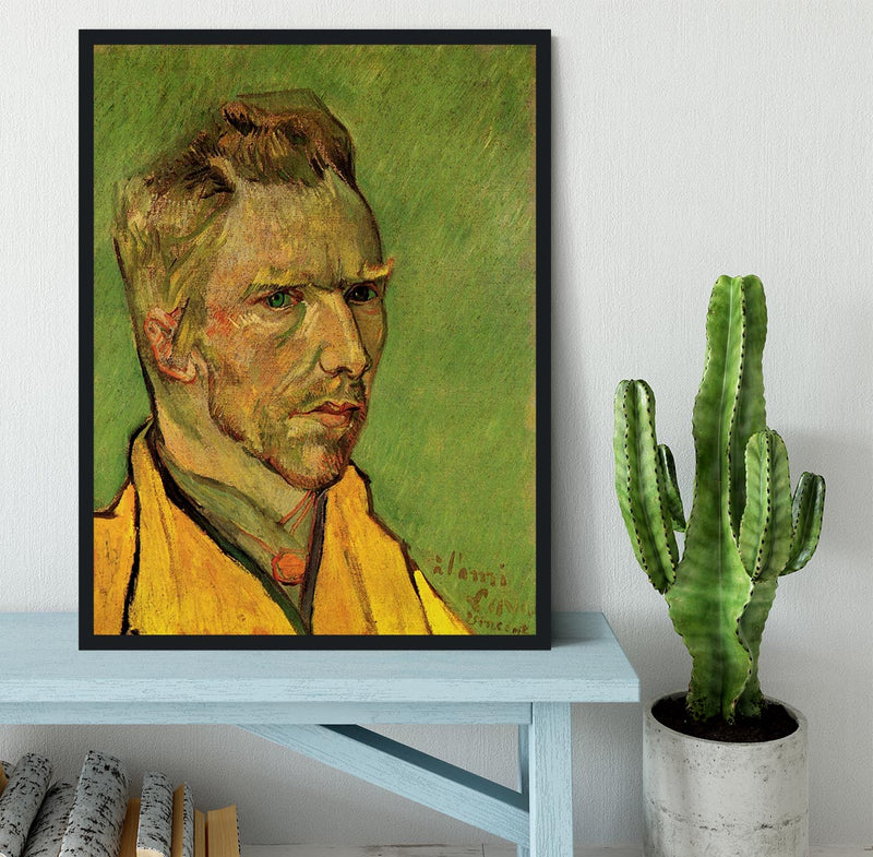 Another Self-Portrait by Van Gogh Framed Print - Canvas Art Rocks - 2