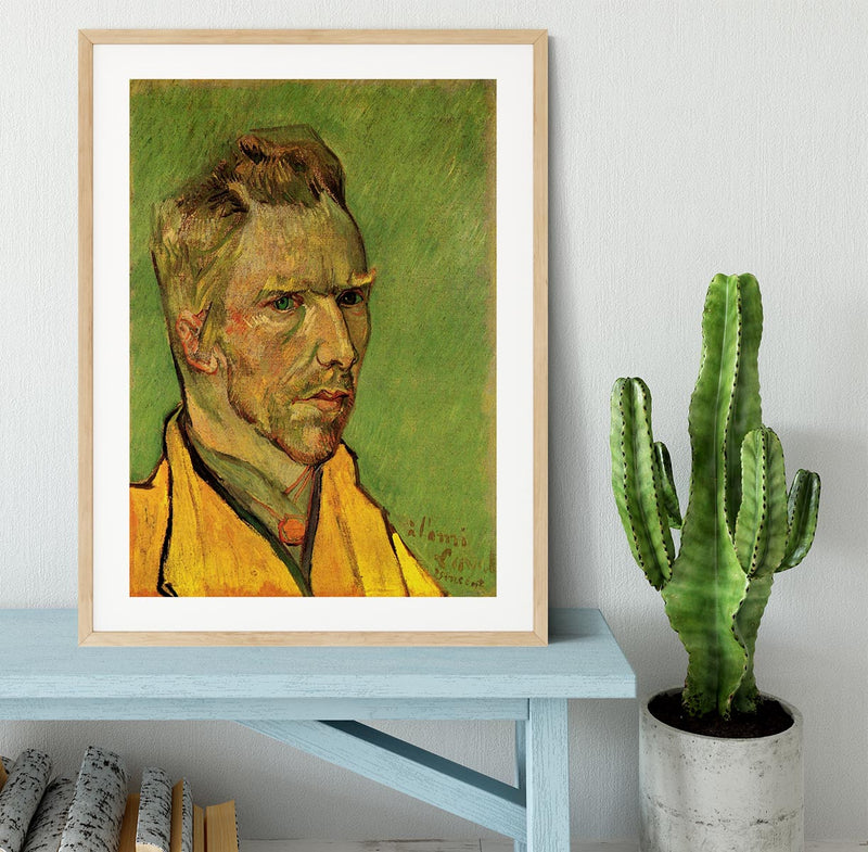 Another Self-Portrait by Van Gogh Framed Print - Canvas Art Rocks - 3