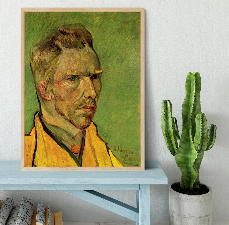 Another Self-Portrait by Van Gogh Framed Print - Canvas Art Rocks - 4