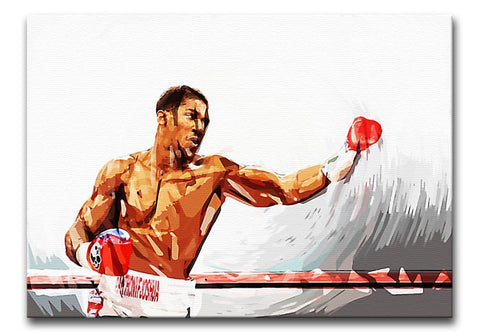 Anthony Joshua Print - Canvas Art Rocks - 1
