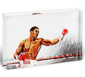 Anthony Joshua Acrylic Block - Canvas Art Rocks - 1