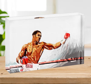 Anthony Joshua Acrylic Block - Canvas Art Rocks - 2