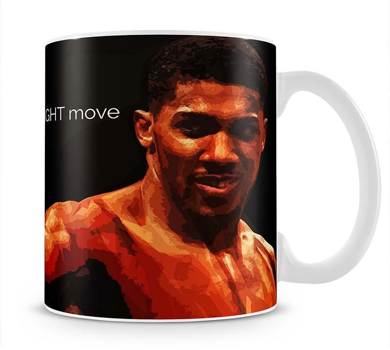 Anthony Joshua Winning Is Knowing Mug - Canvas Art Rocks - 1
