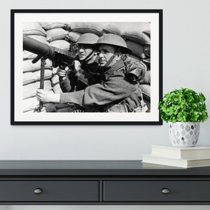 Anti-aircraft station Framed Print - Canvas Art Rocks - 1
