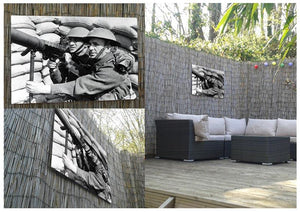 Anti-aircraft station Outdoor Metal Print - Canvas Art Rocks - 2