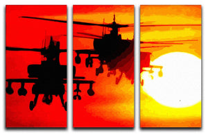 Apocalypse Now 3 Split Panel Canvas Print - Canvas Art Rocks