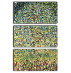 Apple Tree by Klimt 3 Split Panel Canvas Print - Canvas Art Rocks - 1