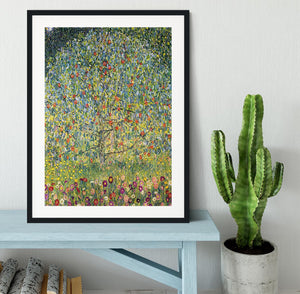 Apple Tree by Klimt Framed Print - Canvas Art Rocks - 1