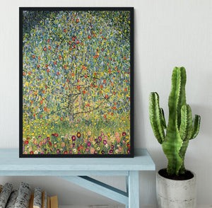Apple Tree by Klimt Framed Print - Canvas Art Rocks - 2