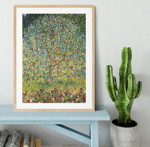 Apple Tree by Klimt Framed Print - Canvas Art Rocks - 3