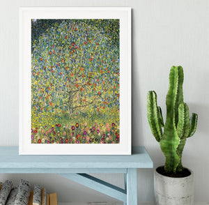 Apple Tree by Klimt Framed Print - Canvas Art Rocks - 5