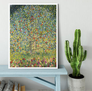 Apple Tree by Klimt Framed Print - Canvas Art Rocks -6